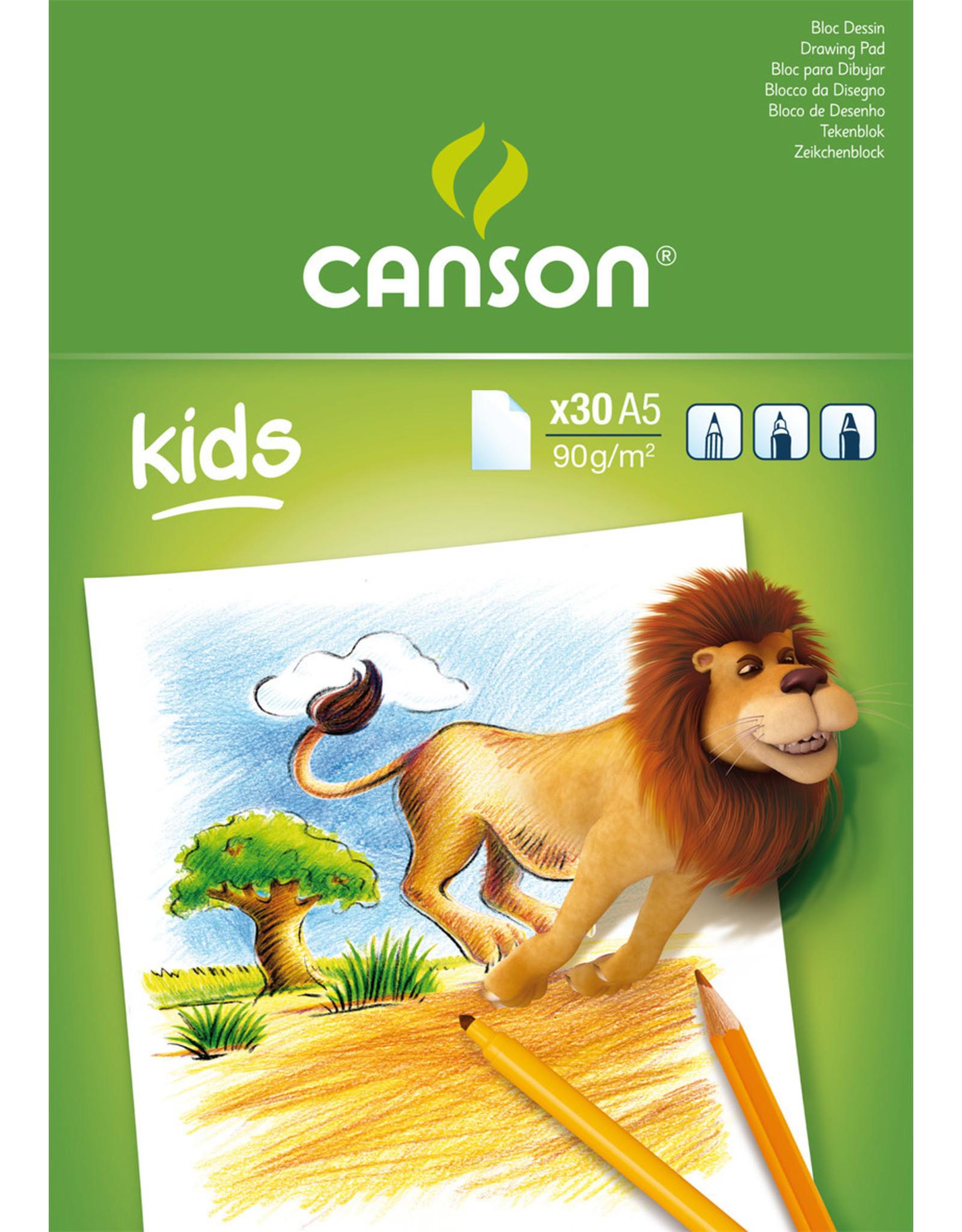 canson Little kids tekenpapier A5