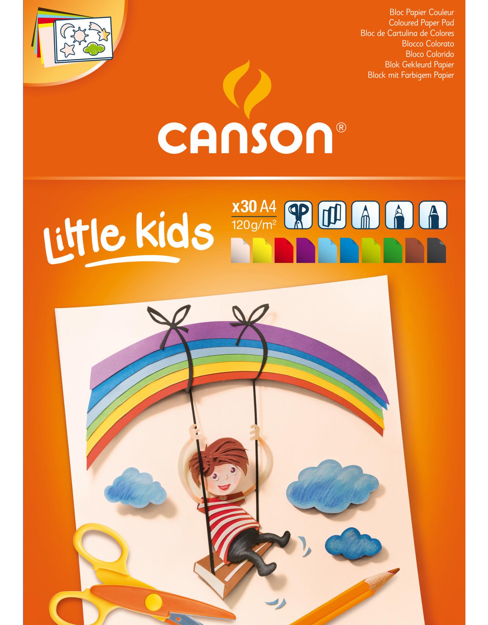 canson Little kids gekleurd papier 120 gr