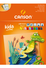 canson Little kids gekleurd papier 185 gr