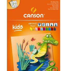 canson Little kids coloured paper 185 gr