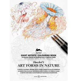 Kleurboek - Art forms in nature