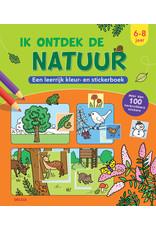 Deltas Kleur-en stickerboek - Ik ontdek de natuur