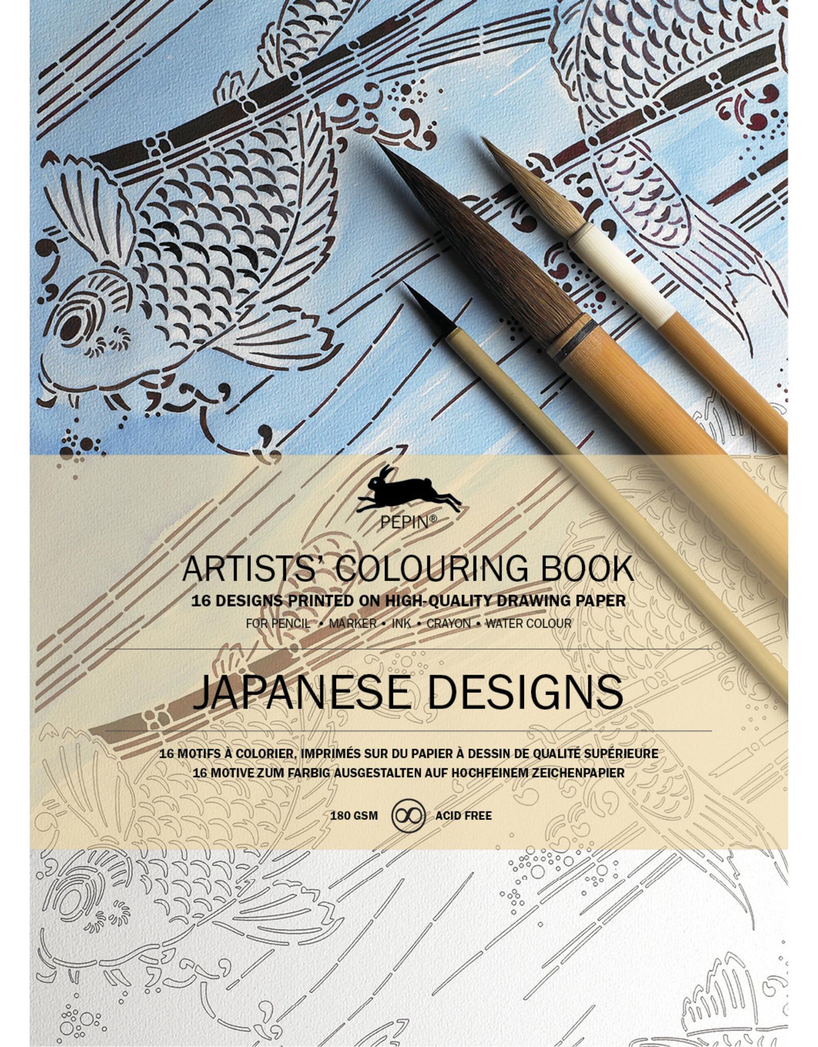 Kleurboek - Japanese designs