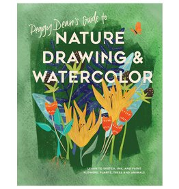 Nature drawing and watercolor