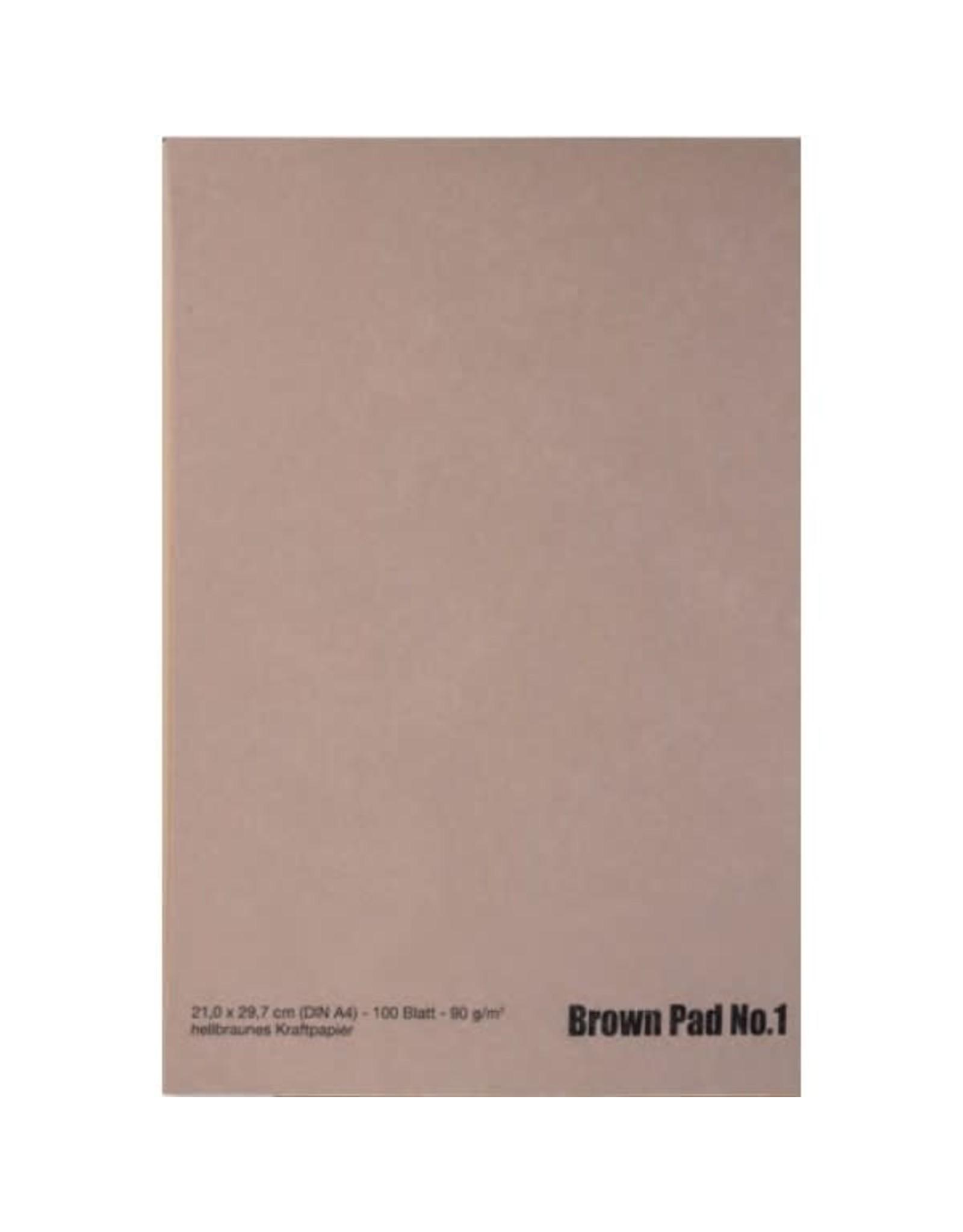 Ami Brown pad nr 1 A4