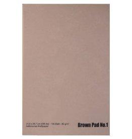 Ami Kraftpapier bruin (zonder lijn) A4