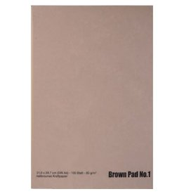Kraftpapier bruin (zonder lijn) A3