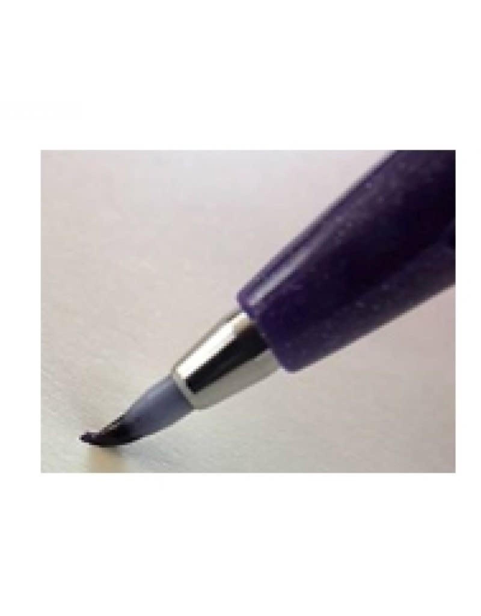 Pentel Brush sign pen oker
