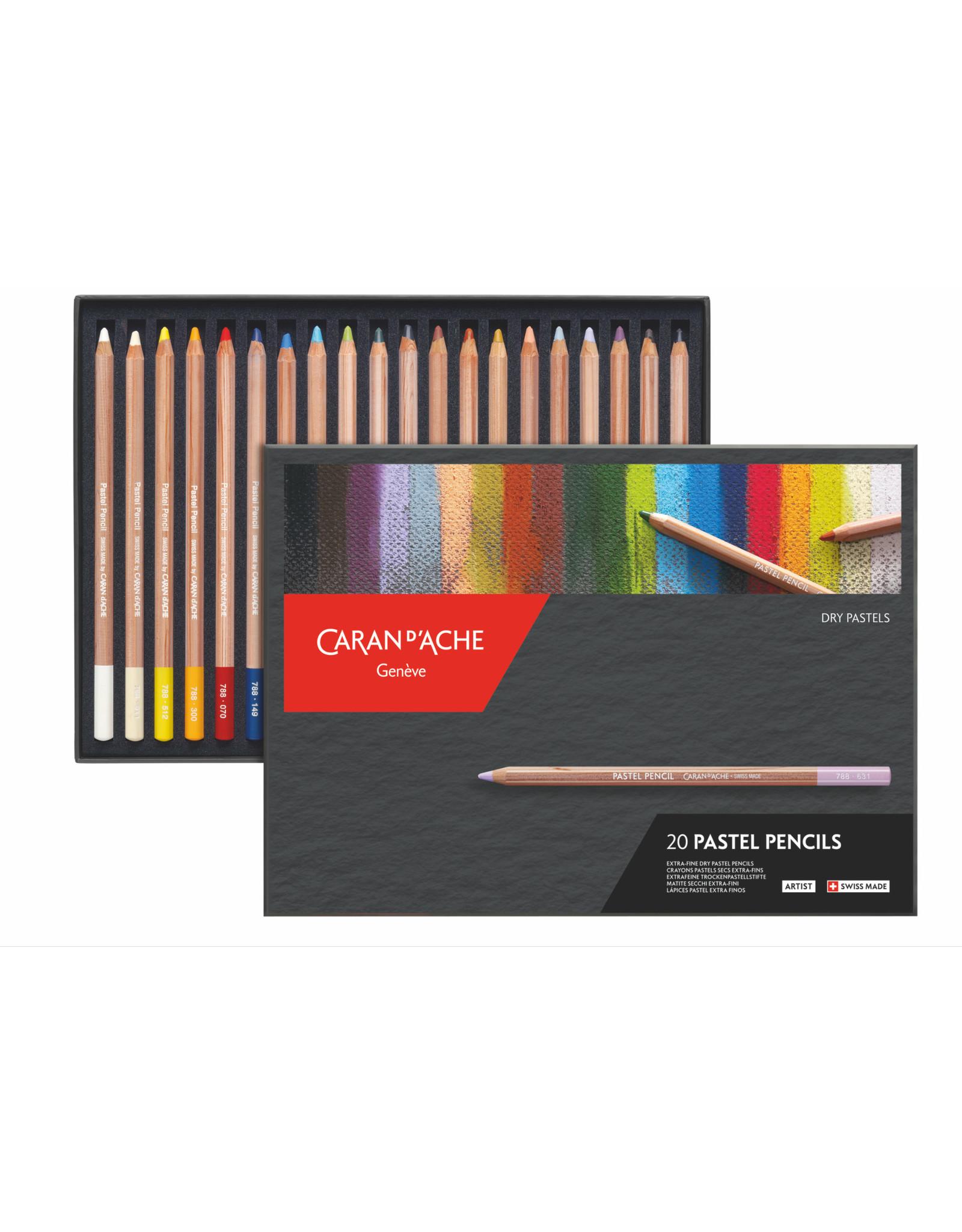 Caran d'Ache Pastel potloden set 20