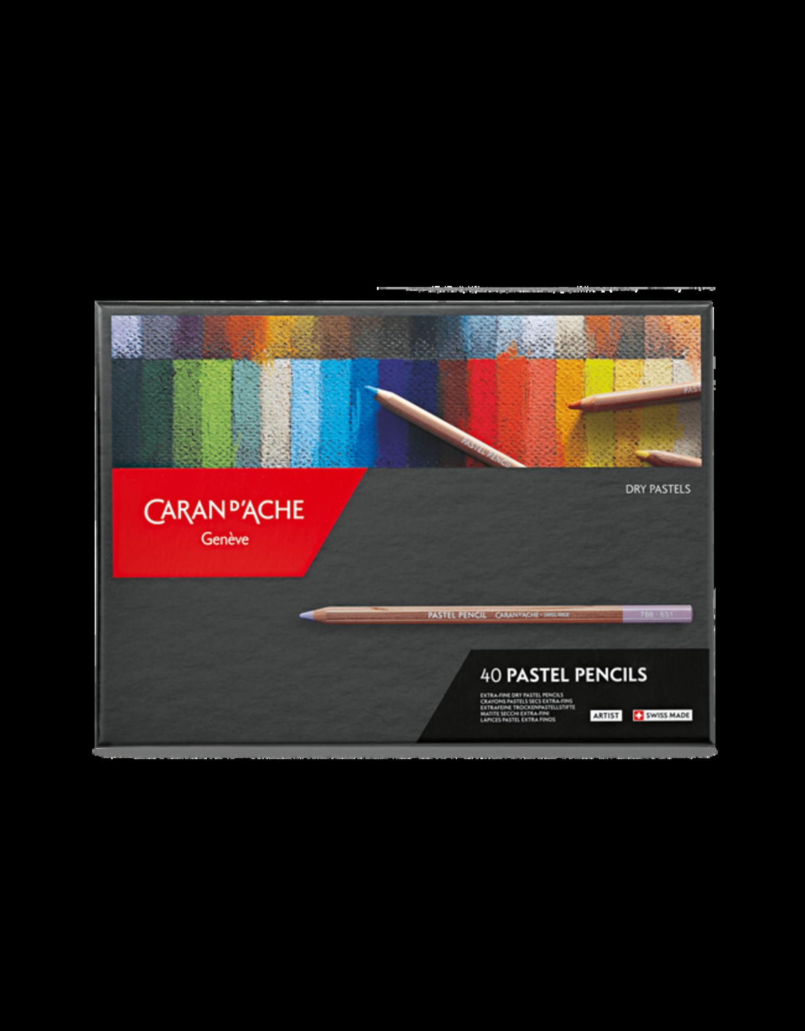 Caran d'Ache Pastel potloden set 40