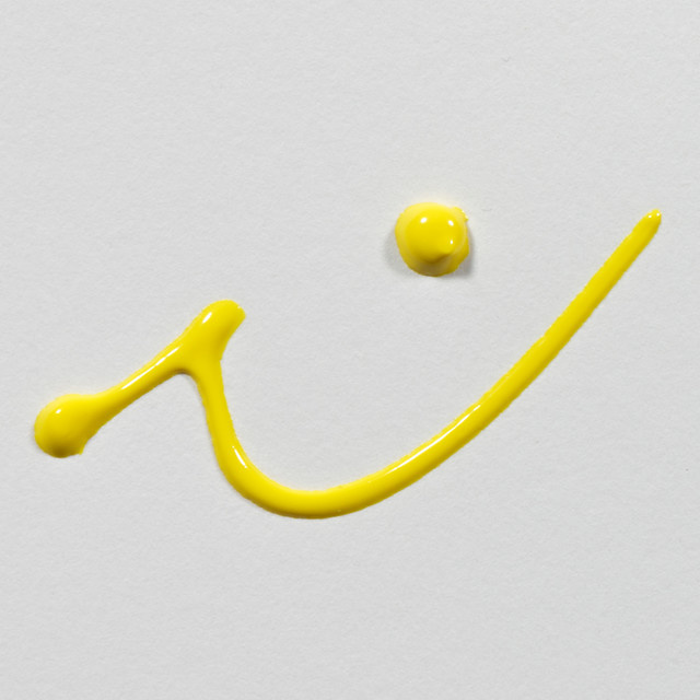 Art creation bright yellow 2002