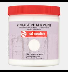 Art creation Katoenwit - Vintage Chalk Paint - 250 ml