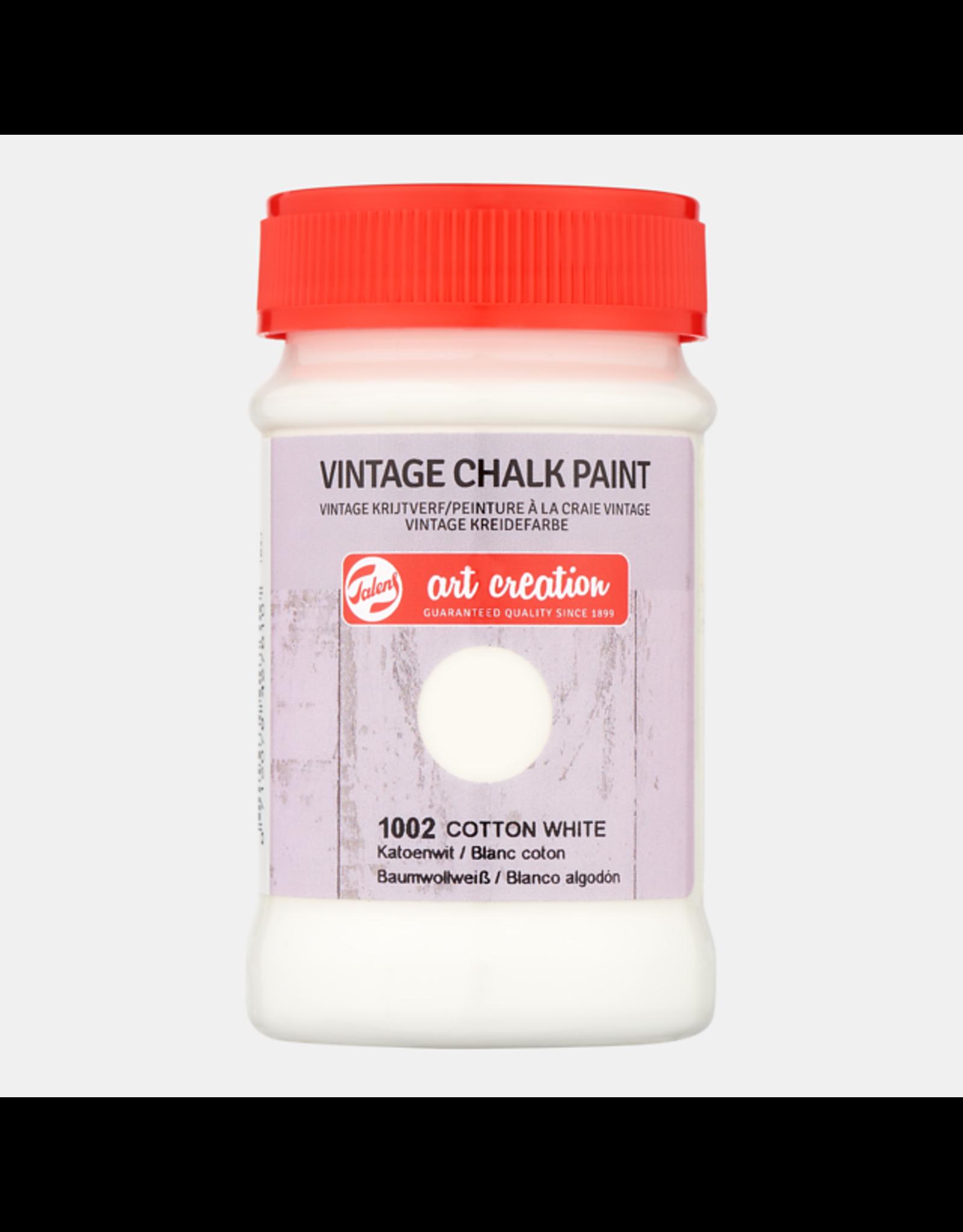 Art creation Katoenwit - Vintage Chalk Paint - 100 ml