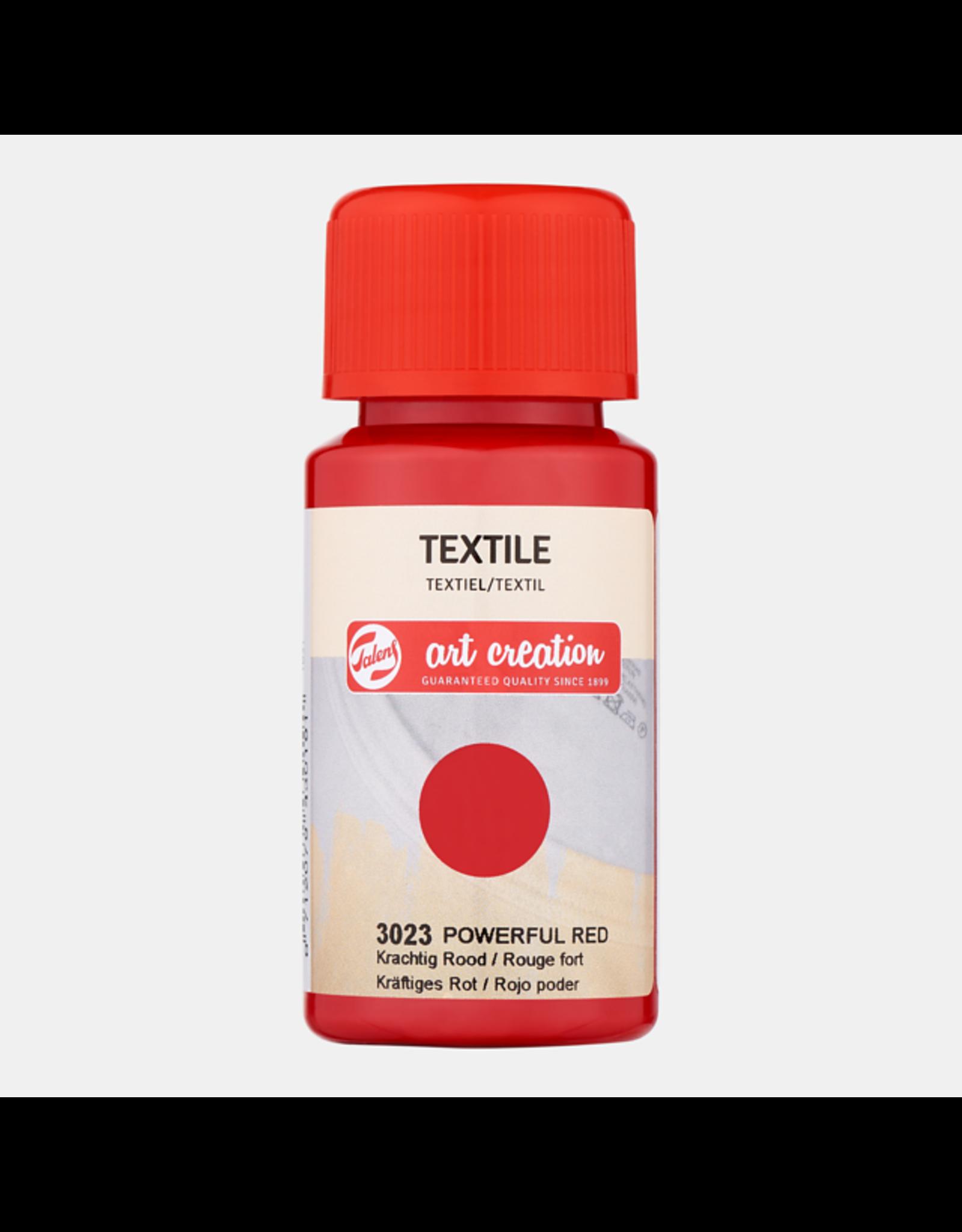 Art creation Krachtig rood - Textile - 50 ml