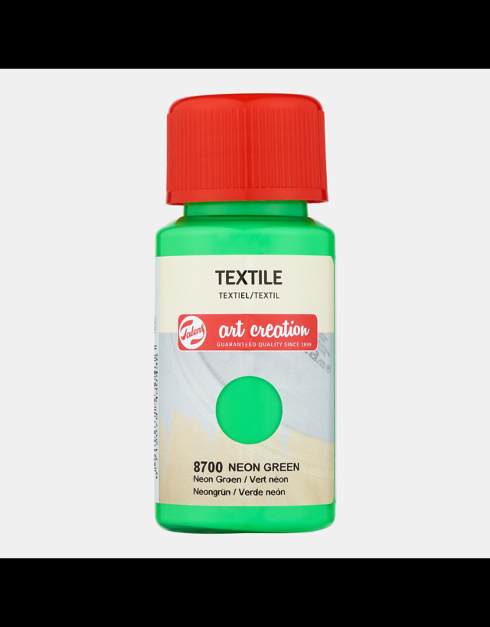 Art creation Neon groen - Textile - 50 ml