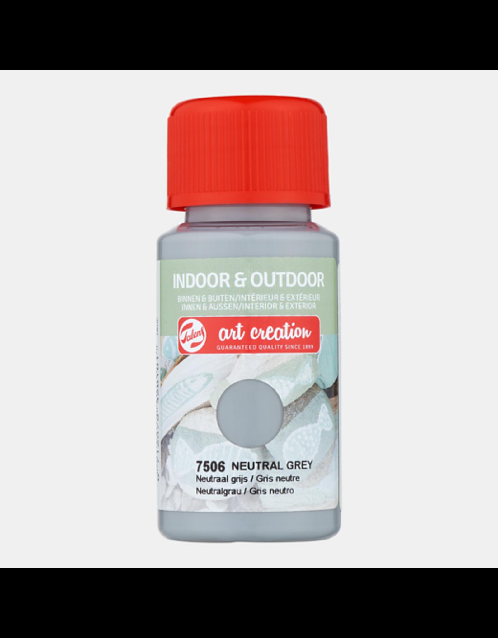 Art creation Neutraal grijs - Indoor & Outdoor - 50 ml