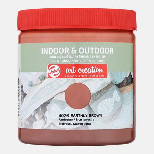 Art creation Aardebruin - Indoor & Outdoor - 250 ml