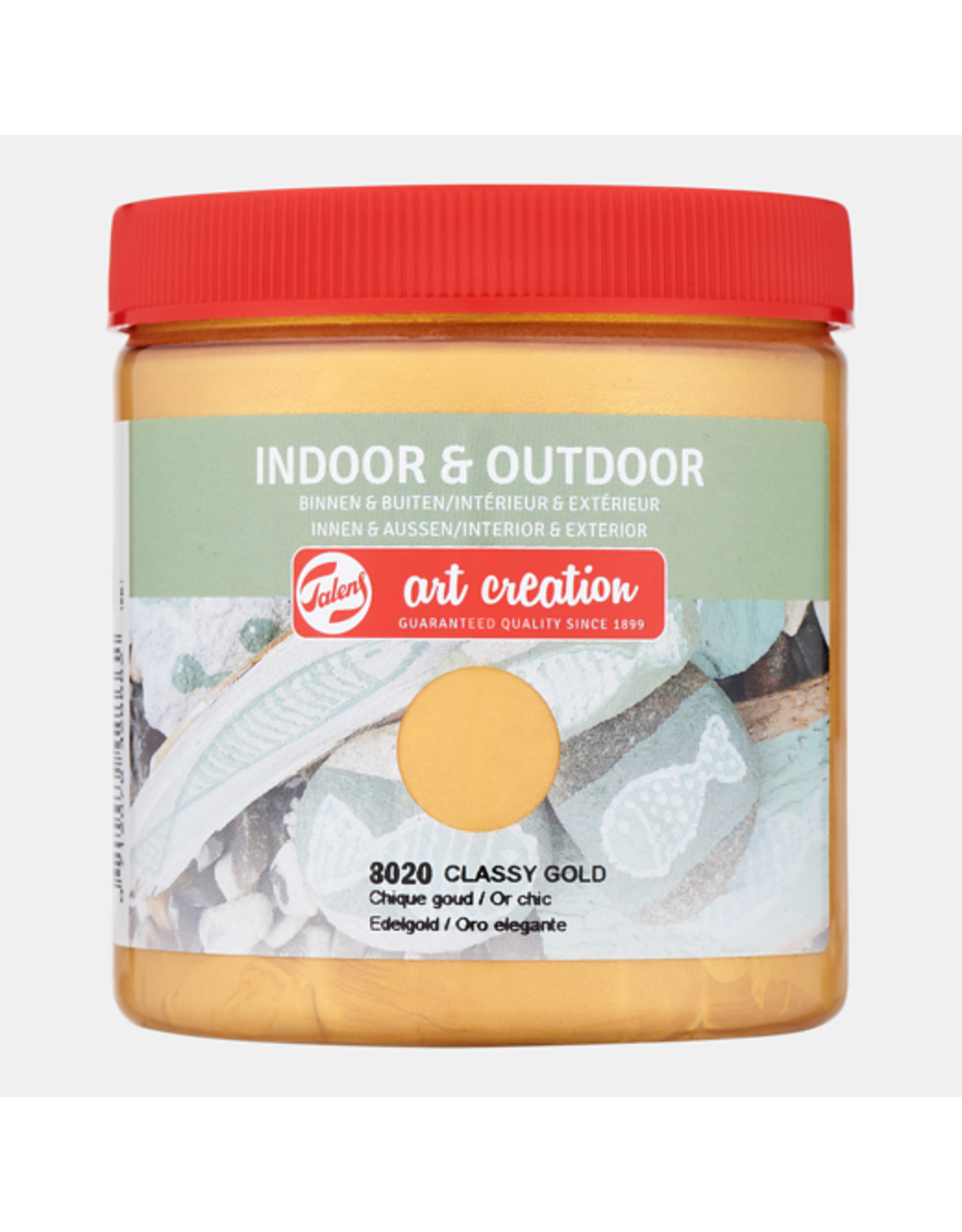 Art creation Chique goud - Indoor & Outdoor - 250 ml