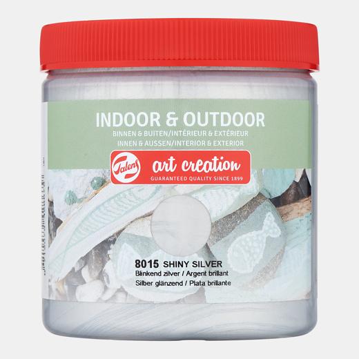 Art creation Blinkend zilver - Indoor & Outdoor - 250 ml
