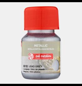 Art creation Loodgrijs - Metallic - 30 ml