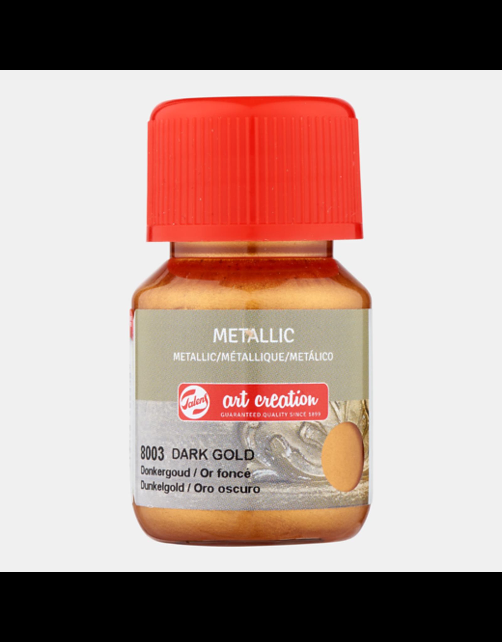 Art creation Donkergoud - Metallic - 30 ml
