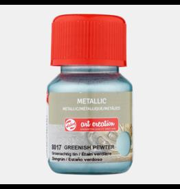 Art creation Groenachtig tin - Metallic - 30 ml