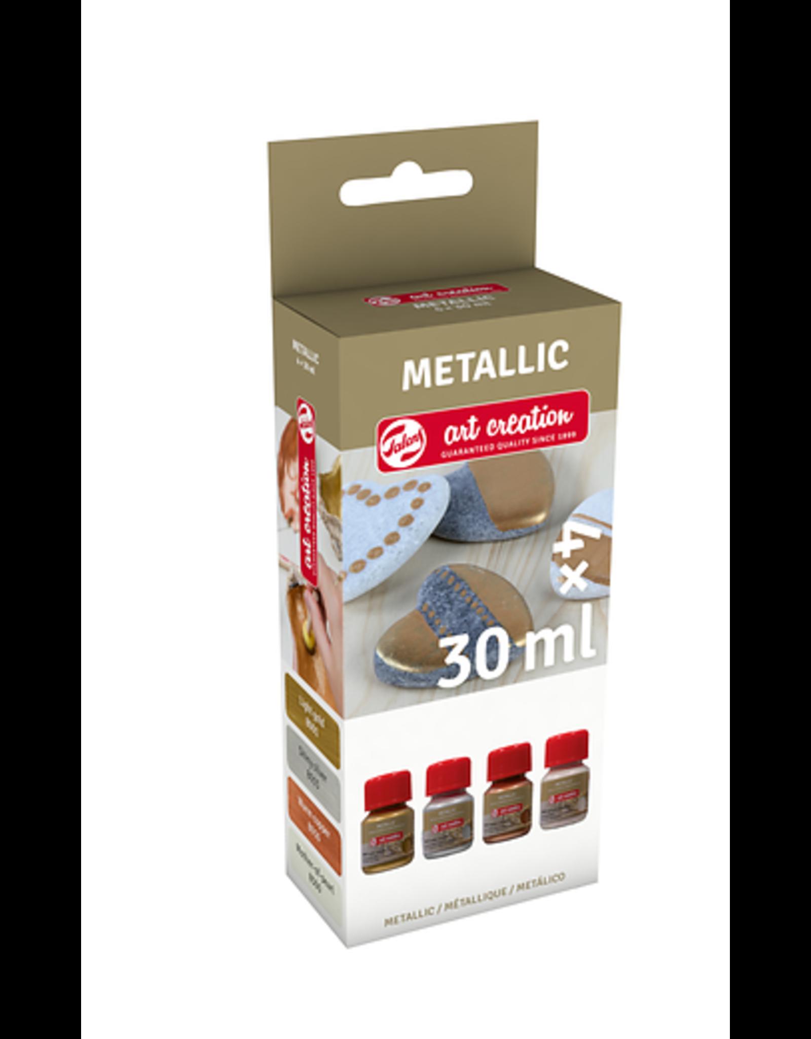 Art creation 4 x 30 ml Specialties - Metallic - Set