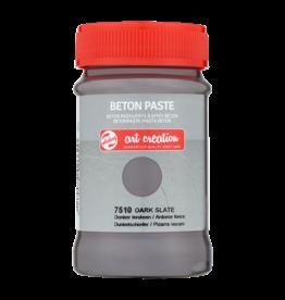 Art creation Donker leisteen - Beton Paste - 100 ml