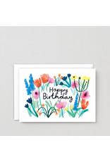 Happy birthday floral