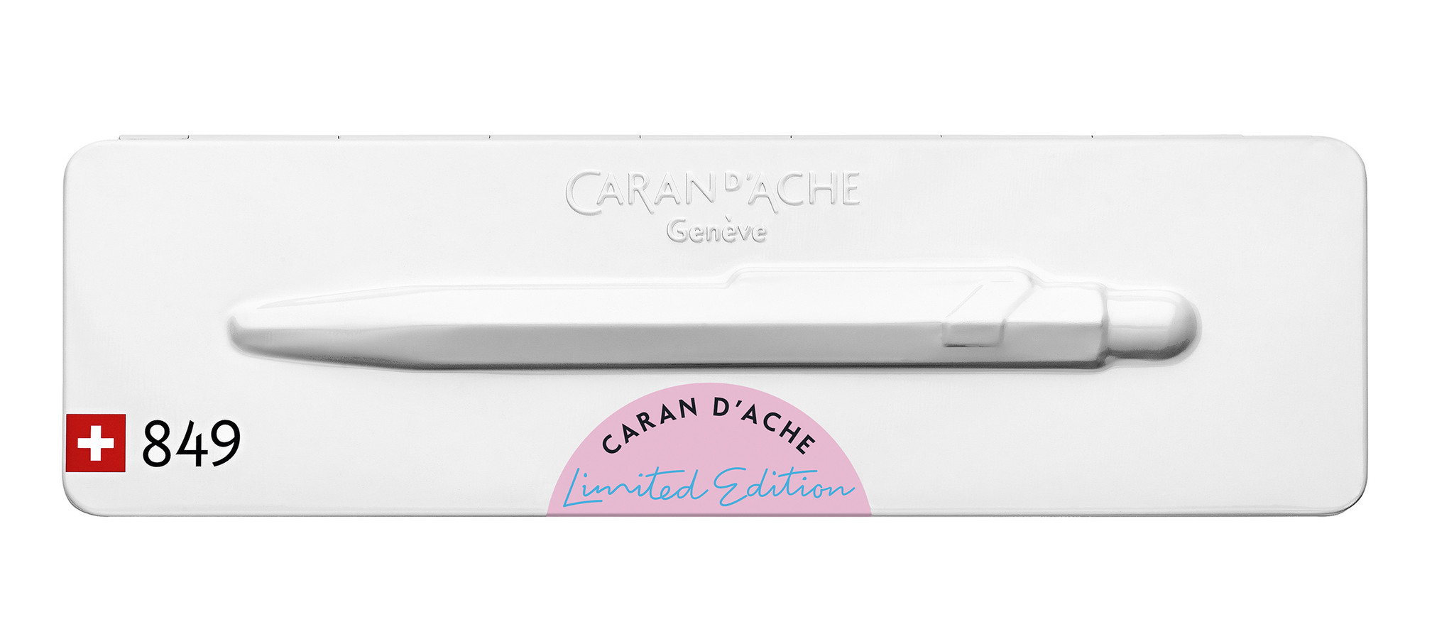 Caran d'Ache 849 Claim your style 2020 hibiscus pink