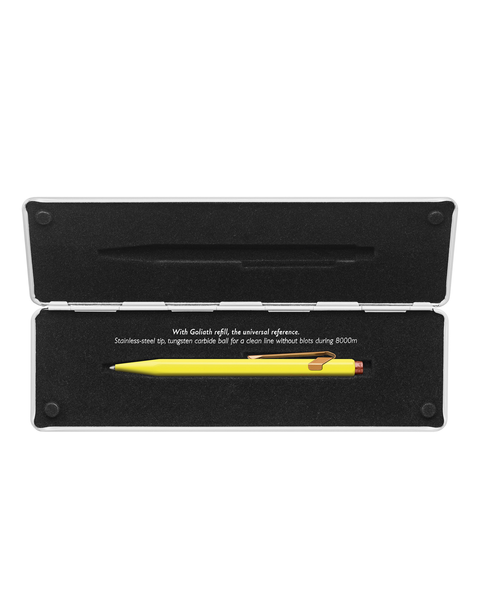 Caran d'Ache 849 Claim your style 2020 canary yellow