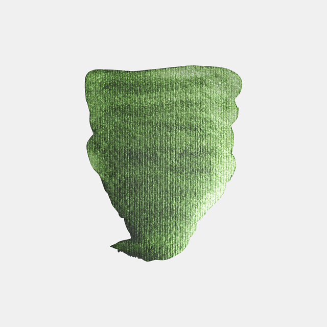 aquarel 1/2 sprankel groen