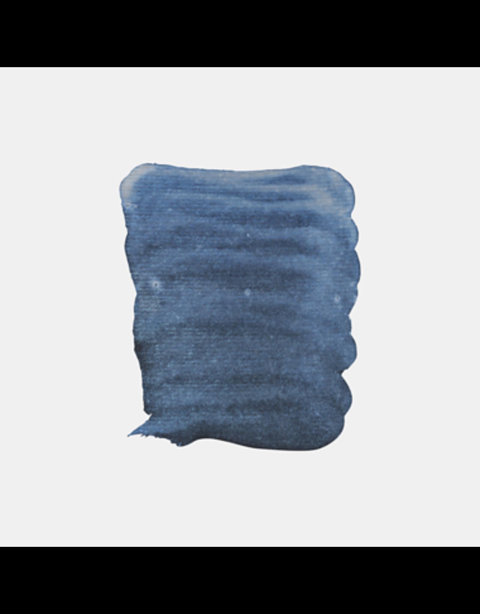 aquarel 1/2 napje interference blauw