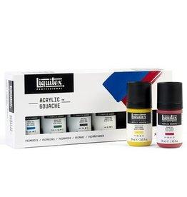 Liquitex Professional Acrylic Gouache 6X59ml Set -Primaries
