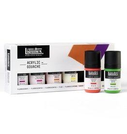 Liquitex Professional Acrylic Gouache 6X59ml Set - Fluorescents