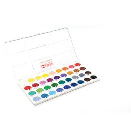 Waterverfpalet 36 kleuren