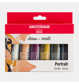 Portret set 6x20ml