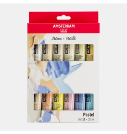 Amsterdam Pastel set 12x20ml