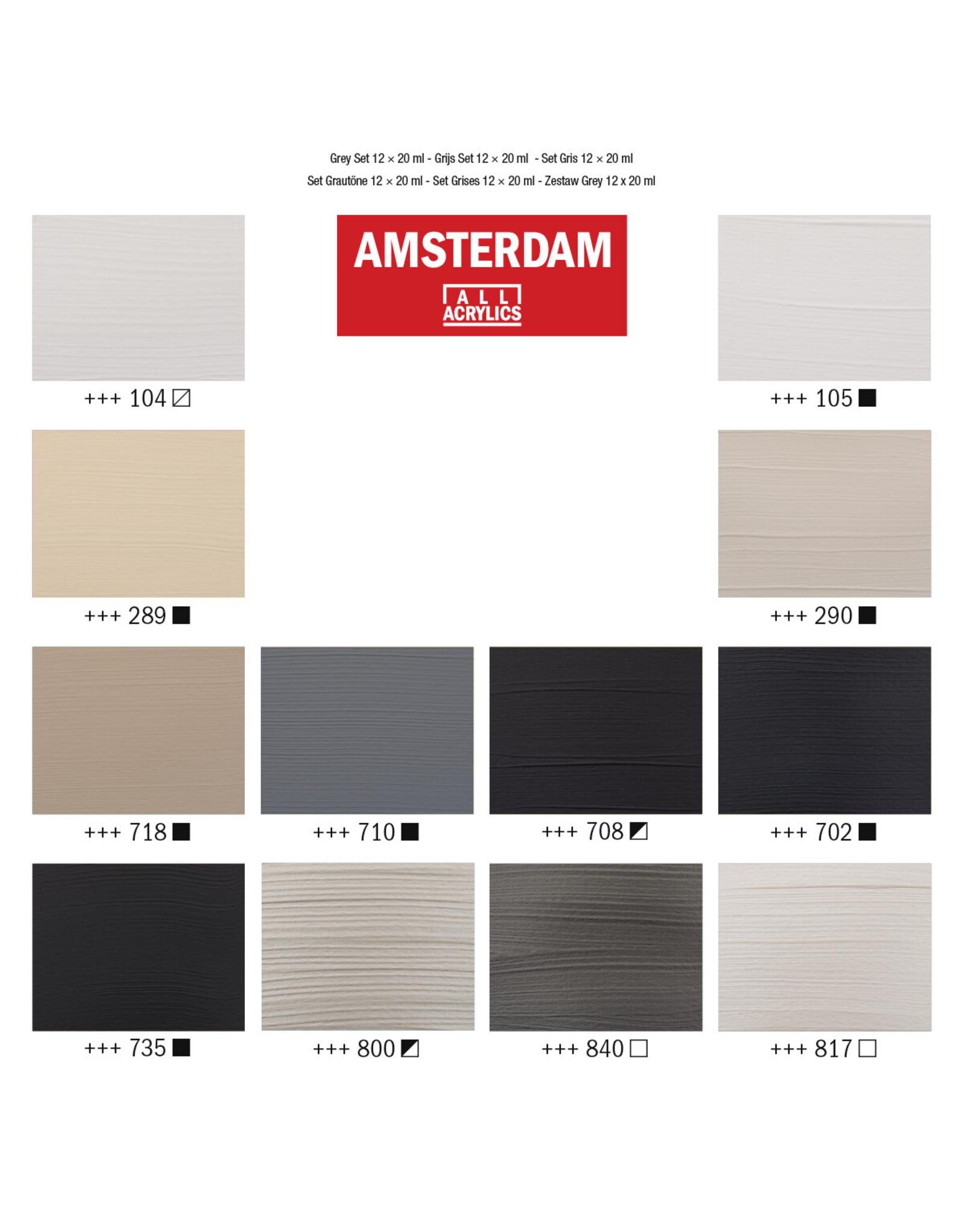 Amsterdam Grey set 12x20ml