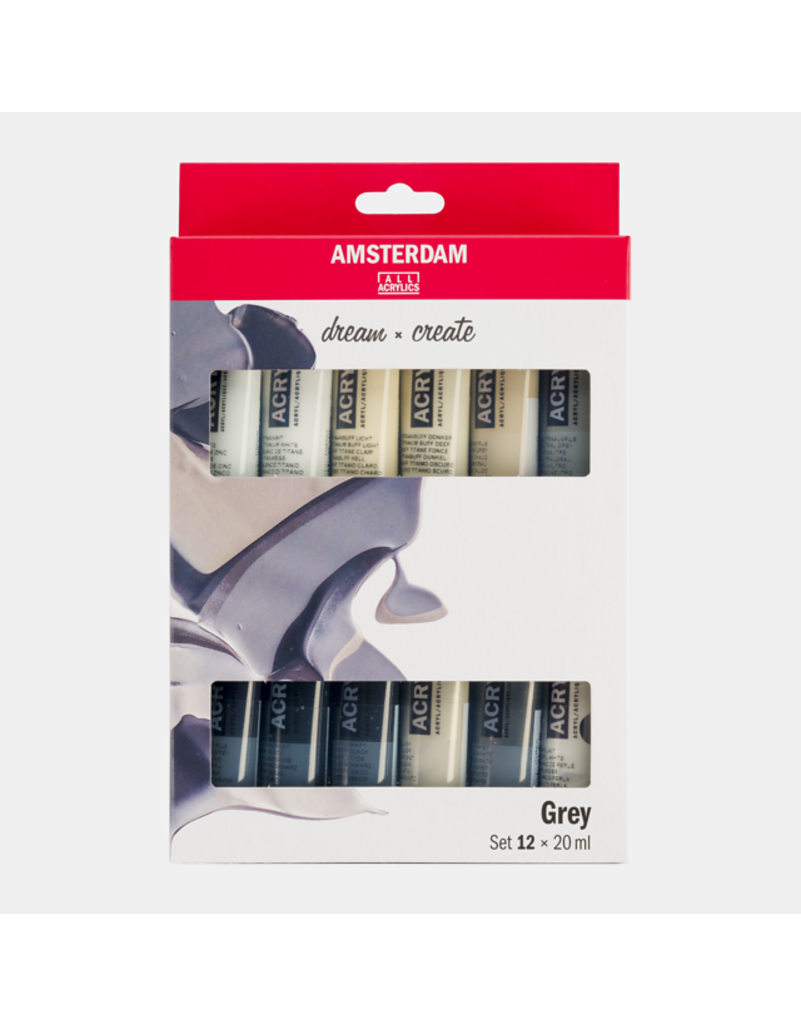 Grey set 12x20ml