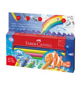 Faber Castell Potlodenset in blikken doosje