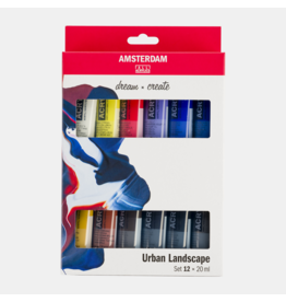 Amsterdam Urban landscape set 12x20ml