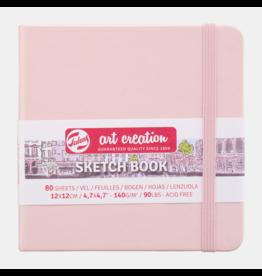 Sketch book pastel pink 12x12cm