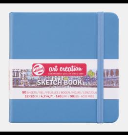 Sketch book lake blue 12x12cm