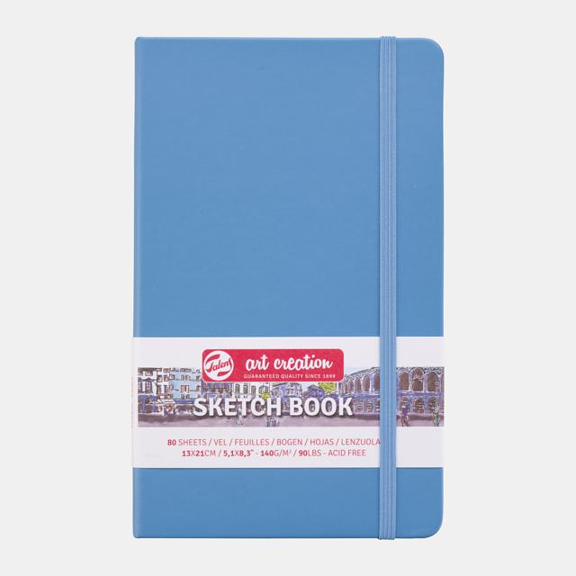 Sketch book lake blue9x14cm