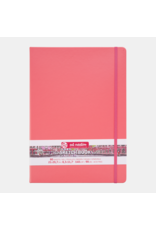 Sketch book coral red A4
