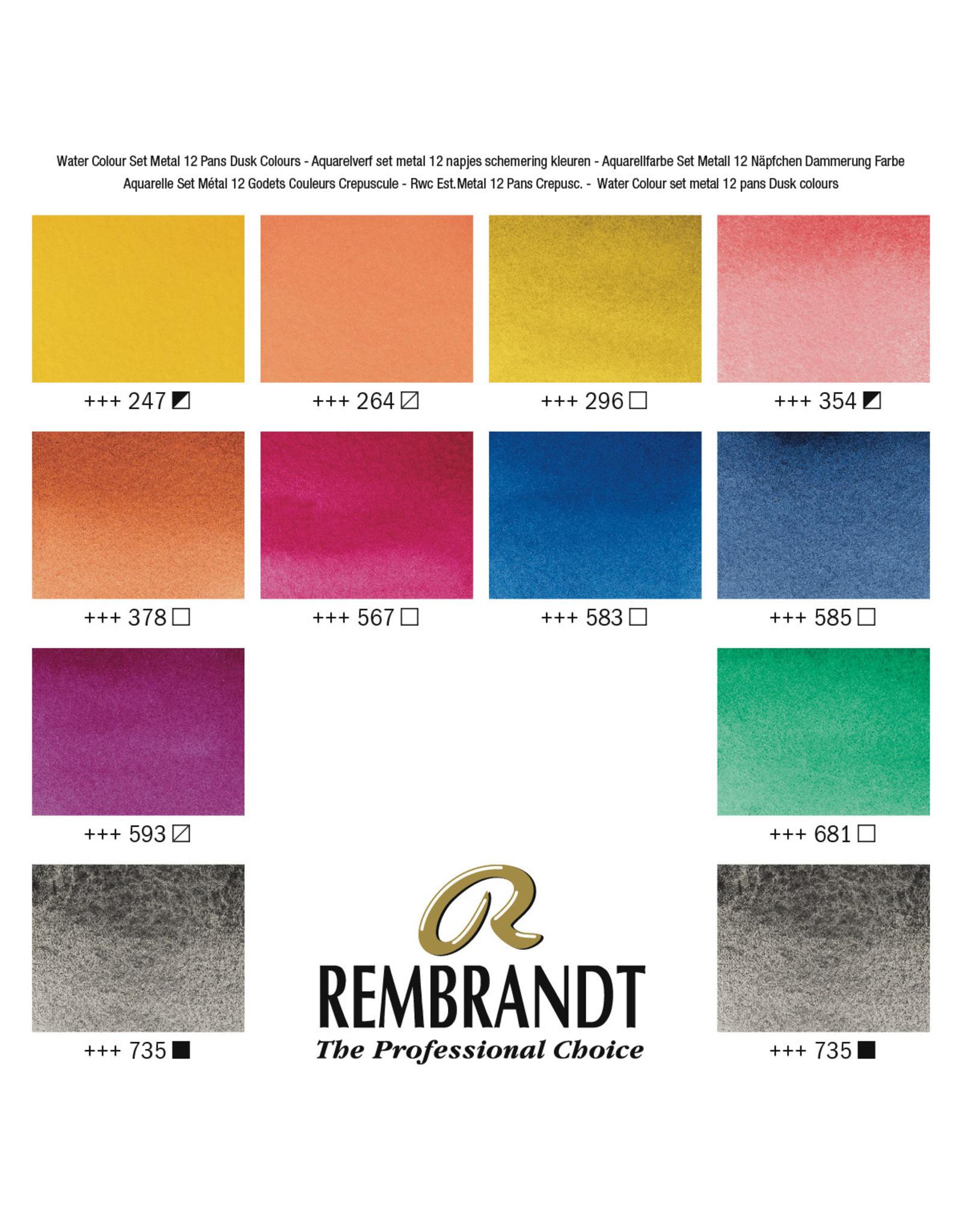 Rembrandt Oxidezwart & mengkleuren