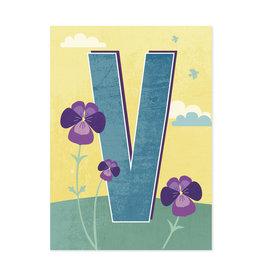 Monimari Letter V