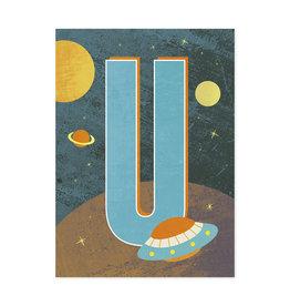 Monimari Letter U