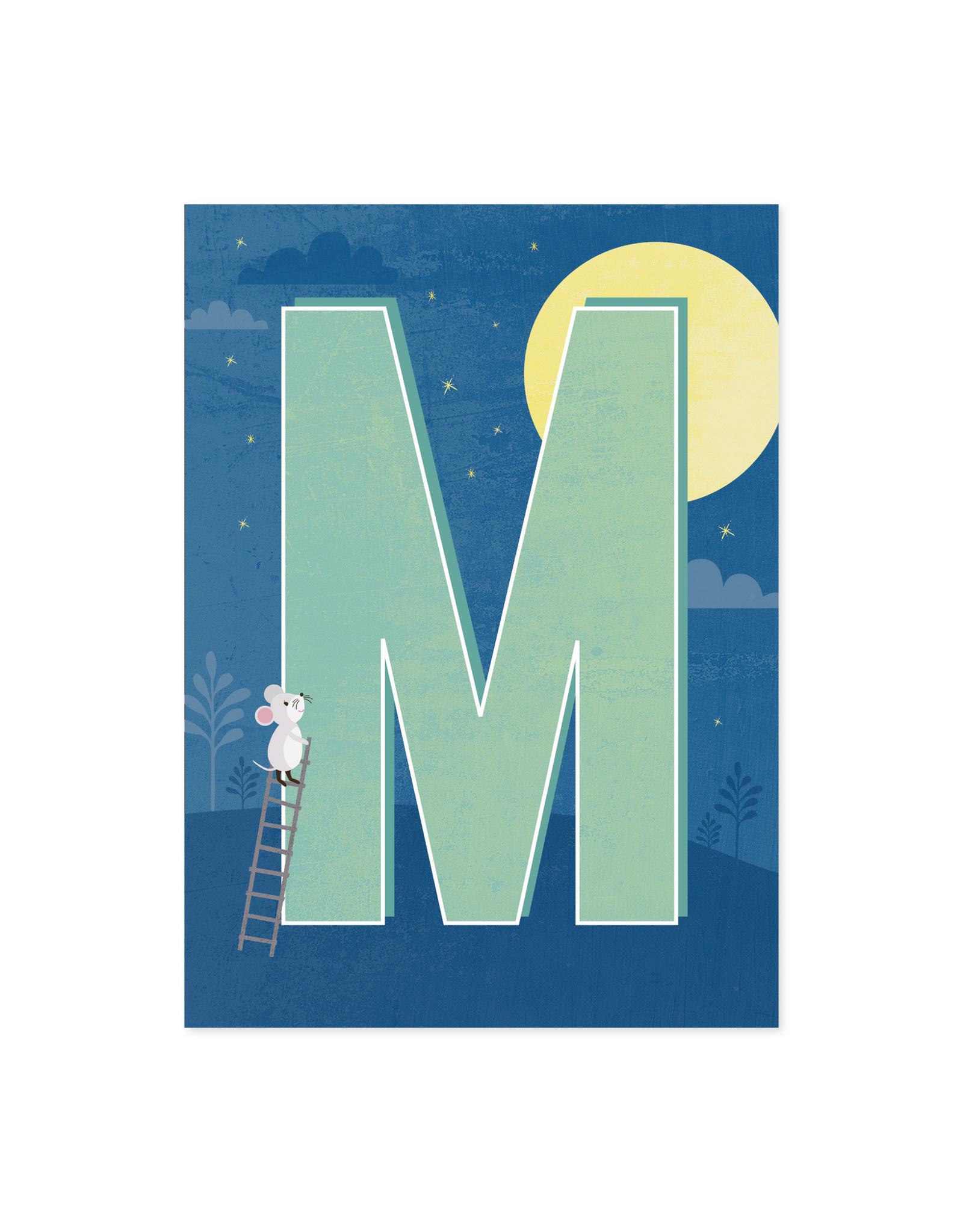 Monimari Letter M